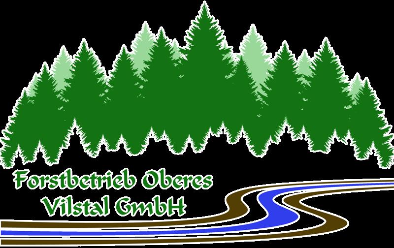 Logo Forstbetrieb Oberes Vilstal Umrandung weiß